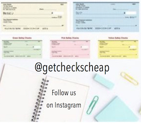 Follow us on Instagram at GetChecksCheap