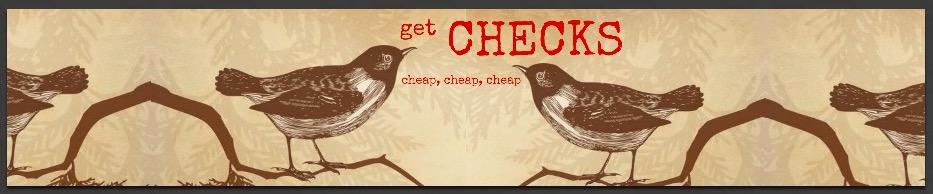 Get High Quality, Safe & Secure Checks Cheap! | Designer & Themed Checks | Personal Checks | Business Checks | logo