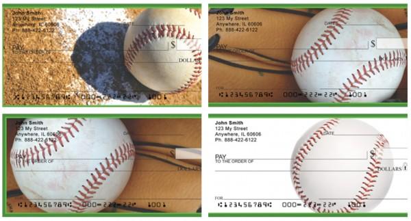 Batter Up Baseball Personal Checks