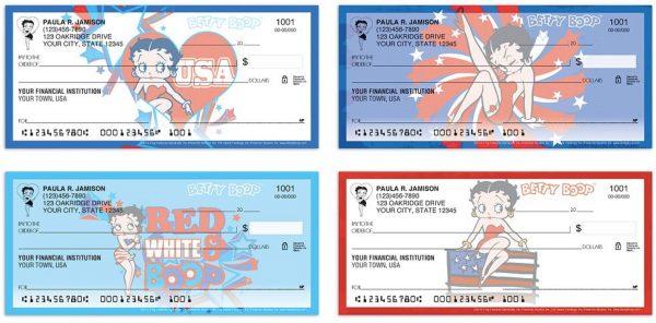 Betty Boop™ Americana Checks