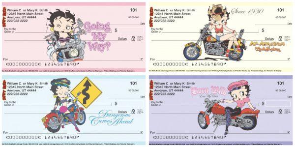Biker Betty Personal Checks