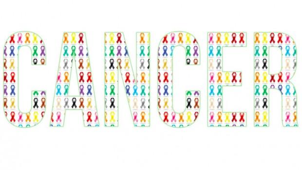 Cancer Awareness Ribbon Personal Checks