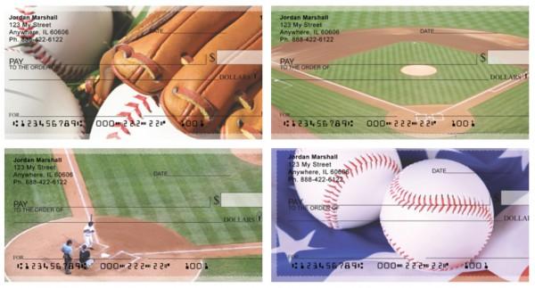 Diamonds are Forever - Baseball Personal Checks, Baseball Checks