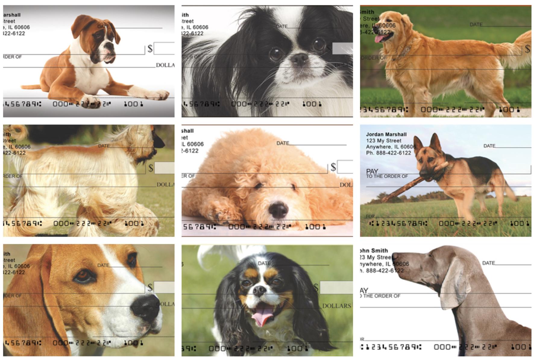 Dog Breeds Checks, Dog Lover Checks