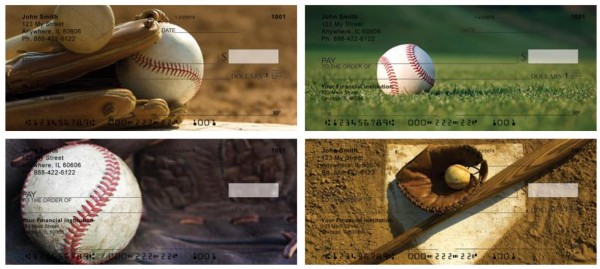 It is all about the Baseball Personal Checks