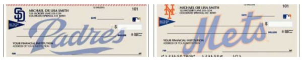 MLB Team Checks