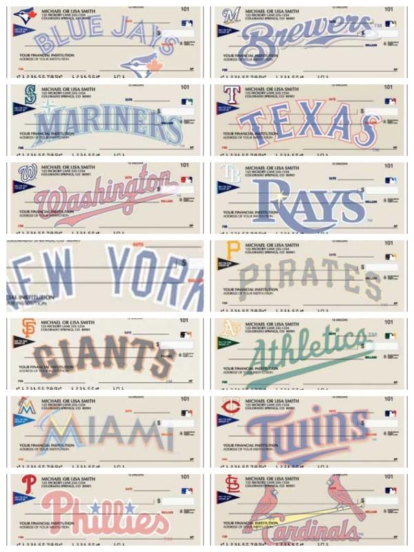 Team Baseball Checks