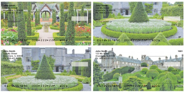 European Castles Topiary Gardens Personal Checks