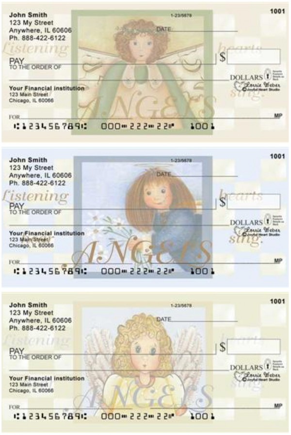 ANGELS by Lorrie Weber Personal Checks