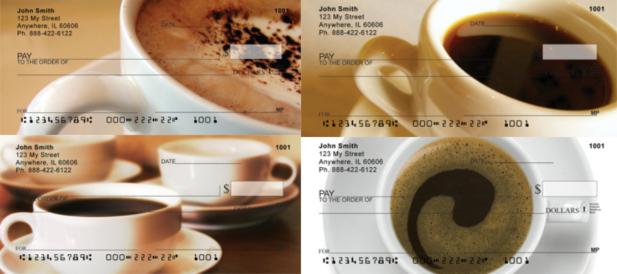 Coffee Break Checks, coffee checks