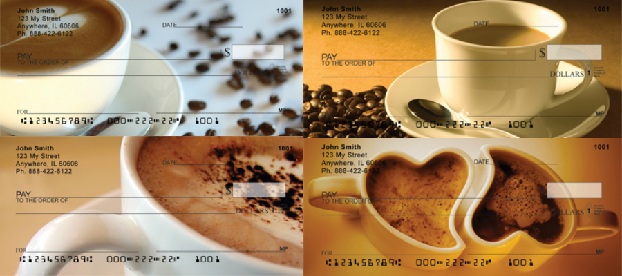 Coffee Lovers Checks, coffee checks