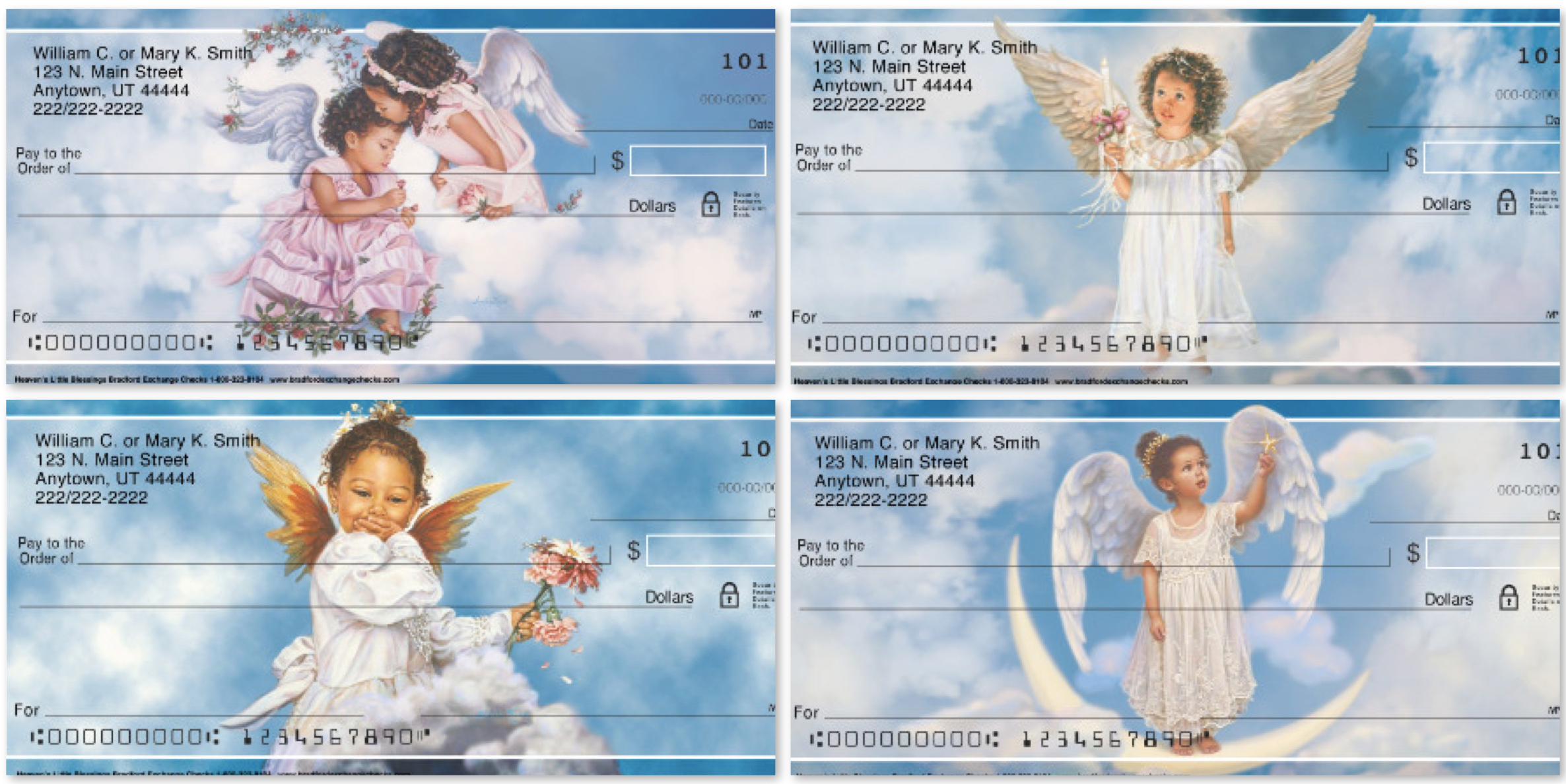 Heavens Little Blessings Personal Checks