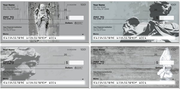Stone Angels Personal Checks