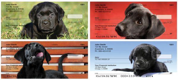 Black Lab Puppies Personal Checks