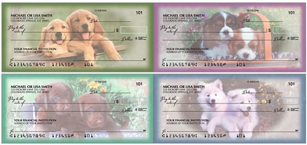 Playful Pups Checks