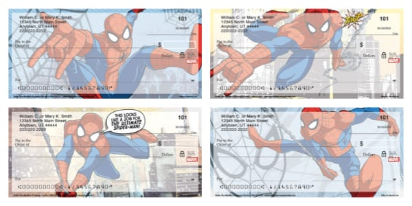Spider-Man Personal Checks
