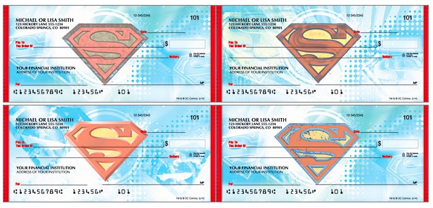 Superman Checks, Superhero Checks