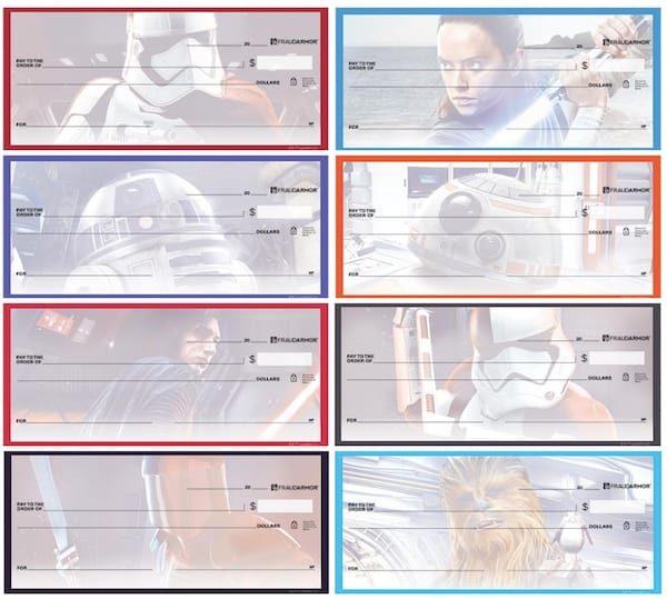 Star Wars™- The Last Jedi Checks