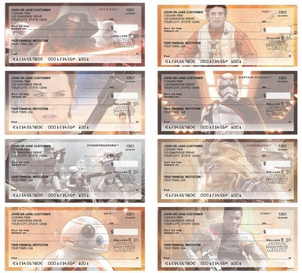 Star Wars The Force Awakens Checks