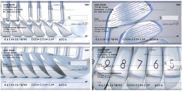 Checkin Irons Personal Golf Checks