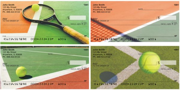 Gaining Perspective Tennis Personal Checks