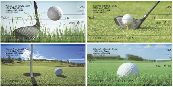 Golfing Personal Checks