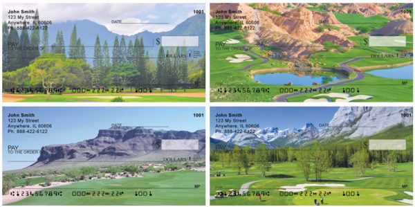 Mountain Golf Courses Personal Checks
