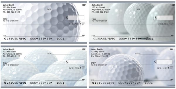 Need Golf Balls Personal Checks