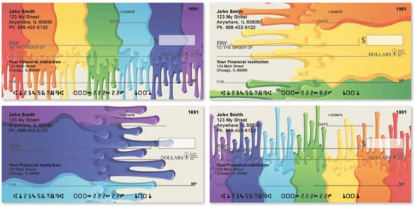 Painting Rainbows Personal Checks