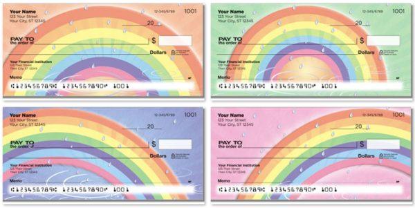 Rainbow Checks