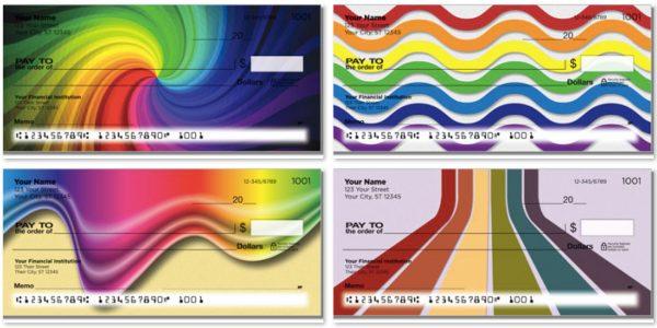 Rainbow Colors Checks