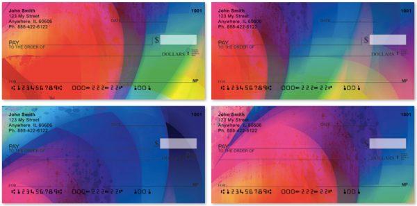 Rainbow Prisms Personal Checks