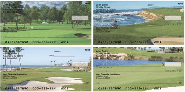 Scenic Golf Courses Personal Checks