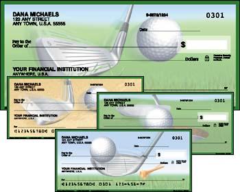 Tee to Green Golf Checks