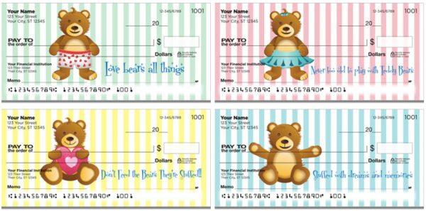 Cuddly Teddy Bear Checks
