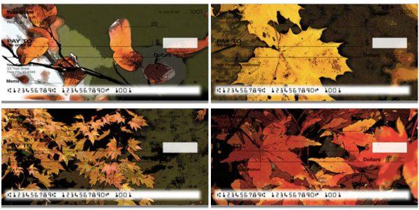 Fall Leaves Checks