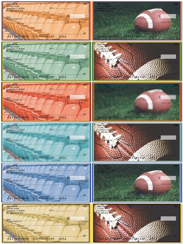 football-team-colors-personal-checks