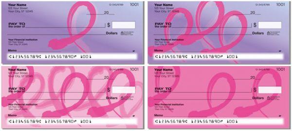 Pink Ribbon Checks