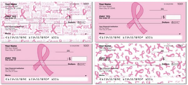 Reed Pink Ribbon Checks