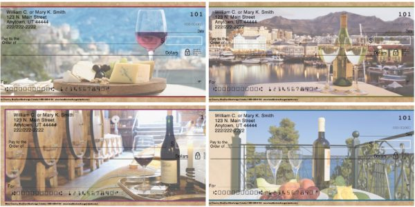 Wine Country Personal Checks