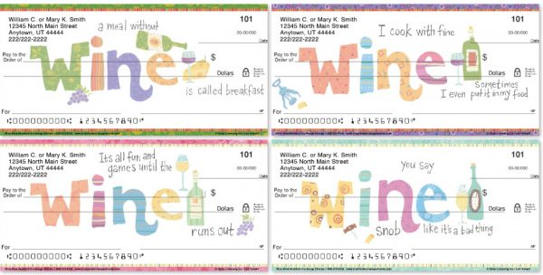 Wine Diva Personal Checks