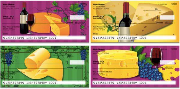 Wine and Cheese Checks