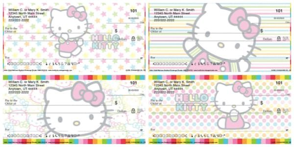 Hello Kitty Colors Personal Checks