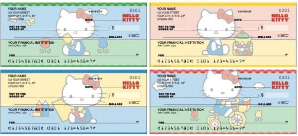 Designer Hello Kitty  Checks