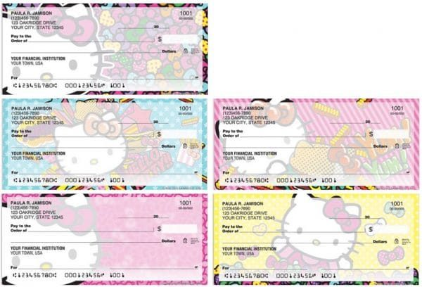 Hello Kitty Pop Checks