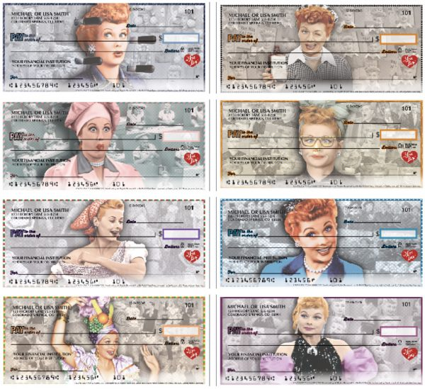 I Love Lucy Checks, Vintage Lucy Checks