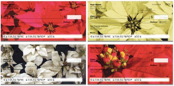 Poinsettia Checks