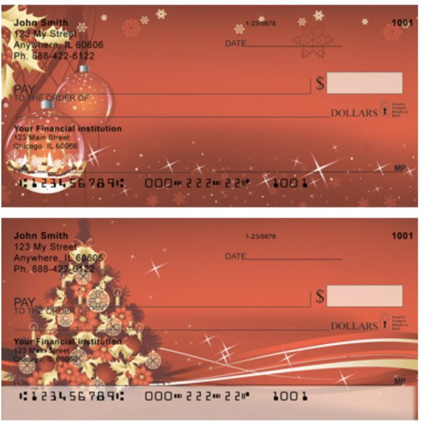 Scarlet Inspirations Personal Checks