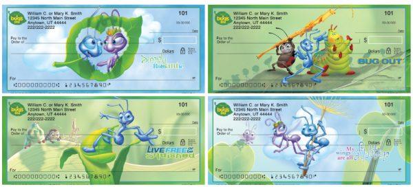 A Bug's Life Personal Checks