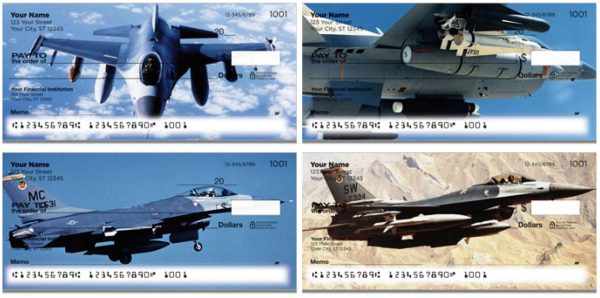 Air Force F-16 Fighter Jet Checks